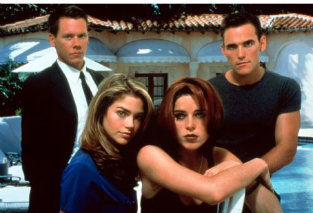 Wild Things Neve Campbell, Matt Dillon, Kevin Bacon And Denise Richards In .