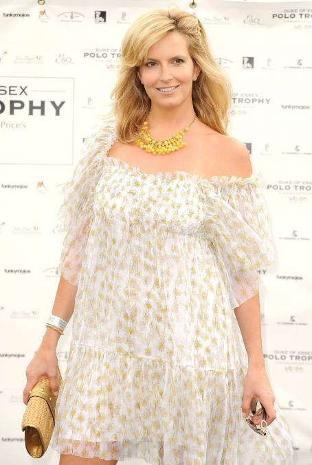 Penny Lancaster - Duke Of Essex Polo Trophy At Gaynes Park On July 4, 2009 In Epping, England