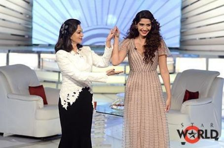 Simi Garewal Sonam Kapoor on Simi Selects India's Most Desirable Show