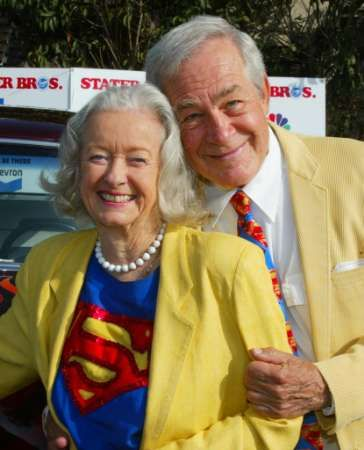 Jack Larson - Adventures of Superman. Noel & Jack 2006