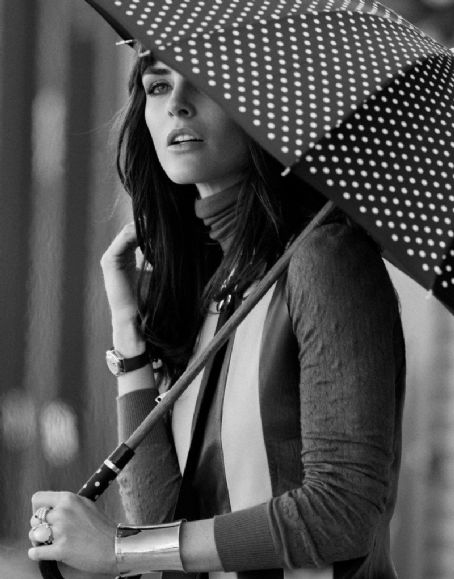 Hilary Rhoda by Thomas Whiteside for DuJour Spring 2013