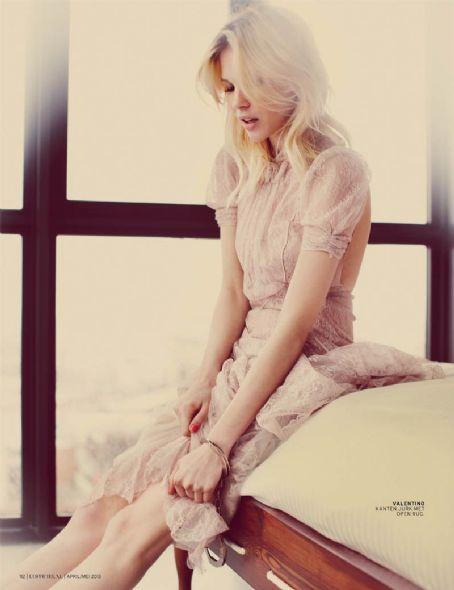Britt Maren  - L'Officiel Magazine Pictorial [Netherlands] (April 2013)