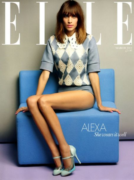 Alexa Chung - Elle Magazine Pictorial [United Kingdom] (March 2012)