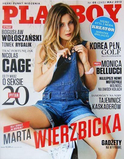 Marta Wierzbicka - Playboy Magazine Cover [Poland] (May 2013)
