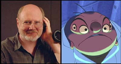 David Ogden Stiers  is the voice of Jumba in Walt Disney's Lilo & Stitch - 2002
