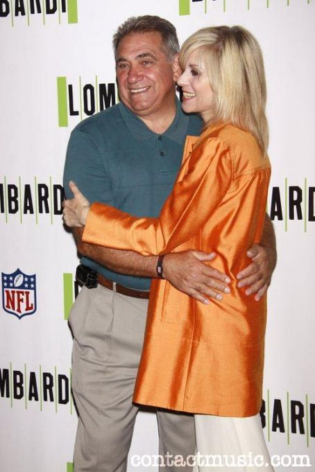 Dan Lauria Dan with Judith Light co-star in Lombardi