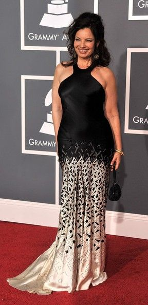 Actress Fran Drescher arrives at the 51st Annual Grammy Awards held at the