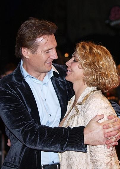 Natasha Richardson Liam Neeson and