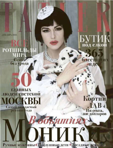 Monica Bellucci - Tatler Magazine Cover [Russia] (December 2011)