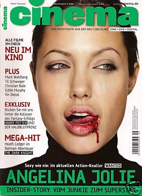 Angelina Jolie - Cinema Magazine [Germany] (September 2008)