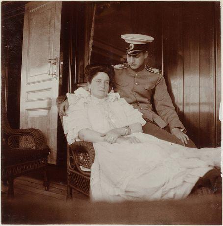 Tsarina Alexandra Grand Duke Dmitri Pavlovich of Russia