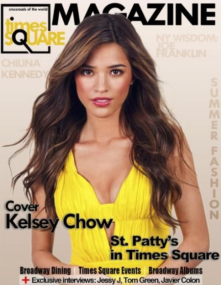 Kelsey Chow Cosmopolitan Kelsey Chow - Times Sqare