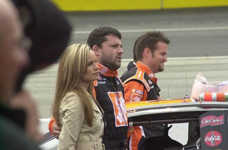 Tara Roquemore Tony Stewart and  Photograph