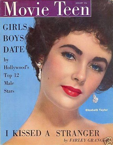 Elizabeth Taylor - Movie Teen Magazine [United States] (January 1952). Post ...