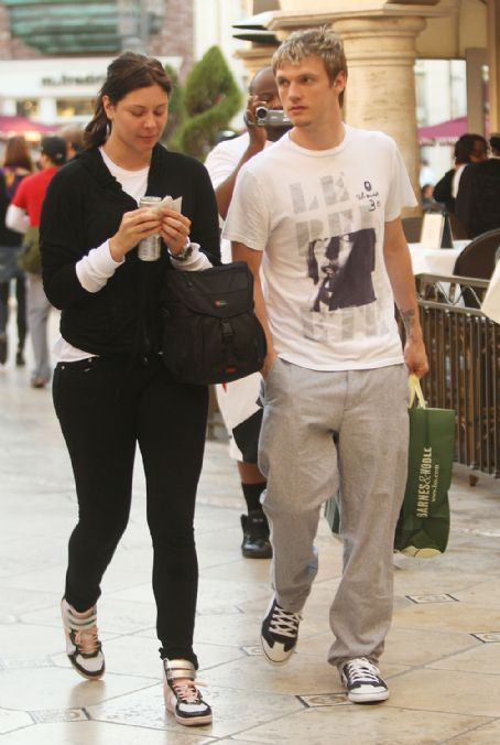 Lauren Kitt & Nick Carter Hollywood, California
