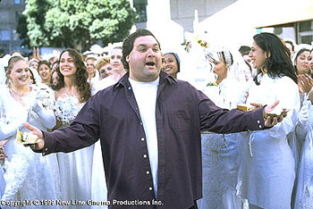 Artie Lange in The Bachelor - 11/99