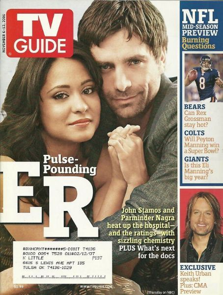 John Stamos - TV Guide Magazine [United States] (6 November 2006)