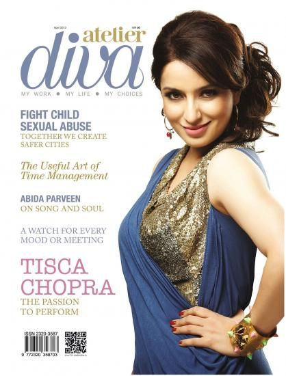 Tisca Chopra  - Atelier Diva Magazine Pictorial [India] (April 2013)