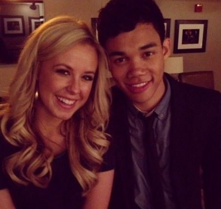 Roshon Fegan  and Chelsie Hightower