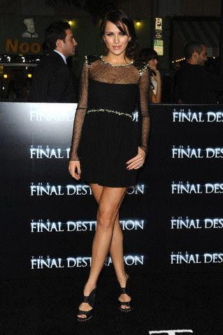 Shantel VanSanten Final Destination 4 Premiere
