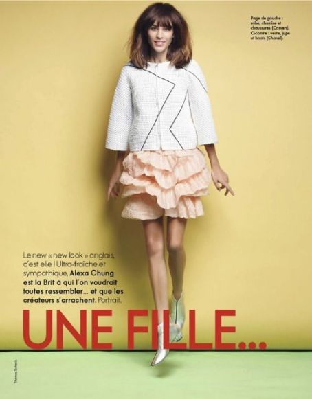 Alexa Chung - Elle Magazine Pictorial [France] (23 March 2012)