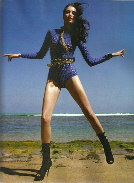 Lais Ribeiro  - Vogue Magazine Pictorial [Brazil] (January 2012)