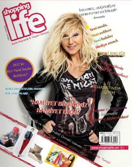 Shopping Life Magazine Cover [Turkey] (January 2012)