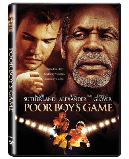 Rossif Sutherland Poor Boy's Game 3D DVD Box Art