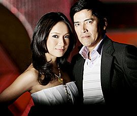 Vic Sotto and Pia Guanio