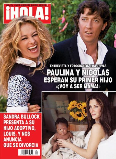 Paulina Rubio and Nicolas Vallejo