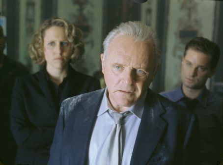 Brooke Smith , Anthony Hopkins and Gabriel Macht in Touchstone's Bad Company - 2002