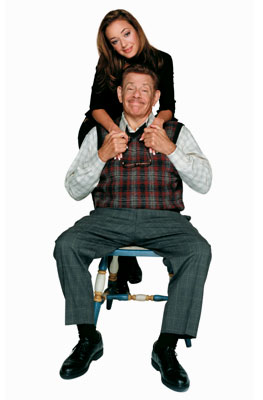 Carrie Heffernan Jerry Stiller, Leah Remini
