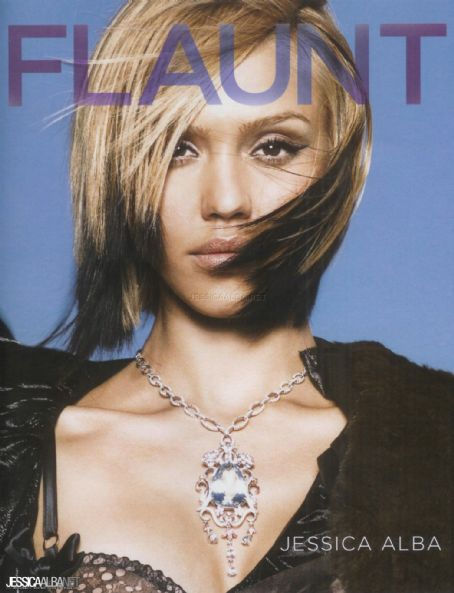 Jessica Alba - Flaunt Magazine Cover [United States] (September 2005)