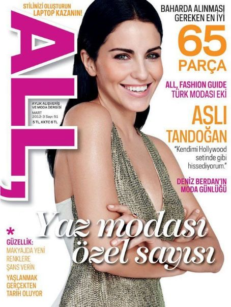 Asli Tandogan - All Magazine Cover [Turkey] (March 2012)