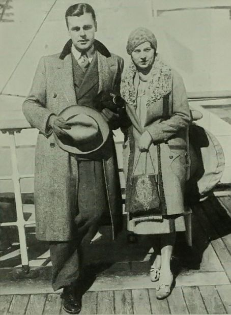 Neil Hamilton  and Elsa Whitmer