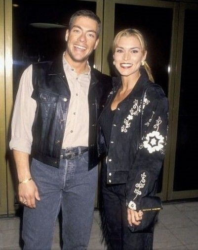 Darcy LaPier  and Jean-Claude Van Damme