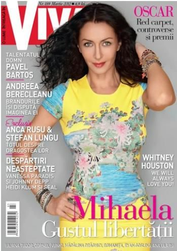 Mihaela Radulescu - VIVA Magazine Cover [Romania] (March 2012)