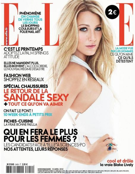 Blake Lively Elle France April 2012