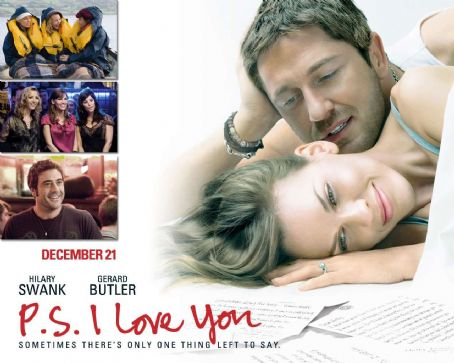 Gerard Butler and Hilary Swank - P.S., I Love You Wallpaper