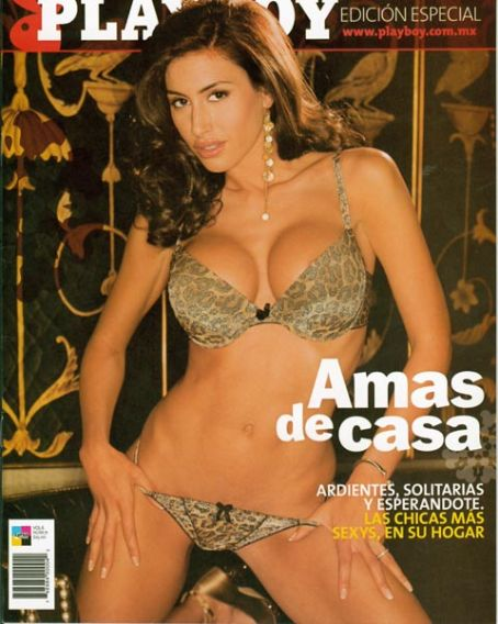 Danielle Fornarelli COVER OF SPANISH PLAYBOY 2009