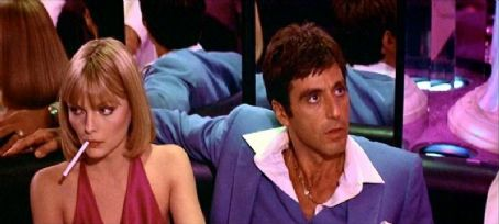 Scarface Michelle Pfeiffer and Al Pacino