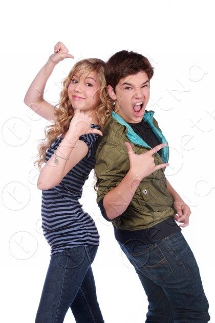 iCarly Nathan Kress and Jennette McCurdy
