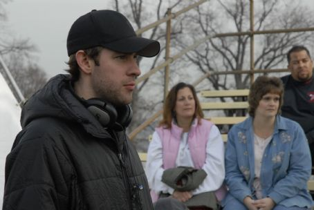Brief Interviews with Hideous Men Director John Krasinski on the set of BRIEF INTERVIEWS WITH HIDEOUS MEN directed by John Krasinski. Photo credit: Jojo Whilden. An IFC Films release