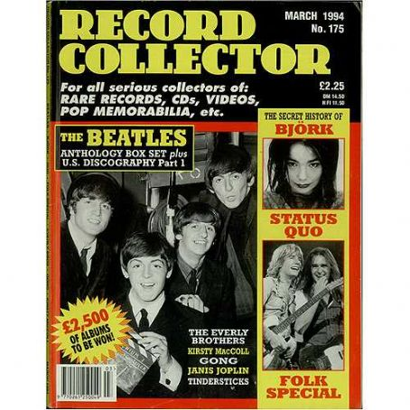 Ringo Starr - Record Collector Magazine [United Kingdom] (March 1994)