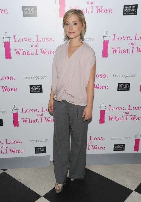 Allison Mack - 'Love, Loss, And What I Wore' New Cast Member Celebration At 44 1/2 On July 29, 2010 In New York City