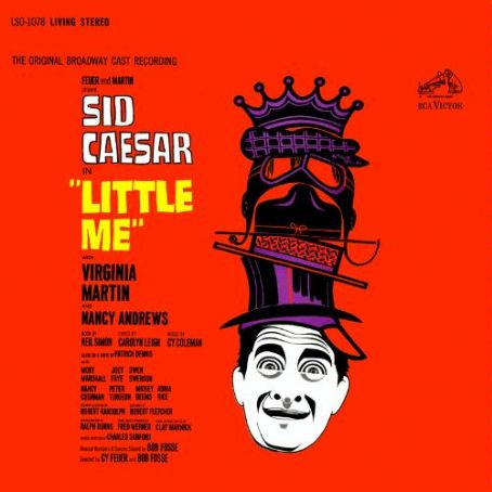 Sid Caesar LITTLE ME ORIGINAL 1962 BROADWAY MUSICAL