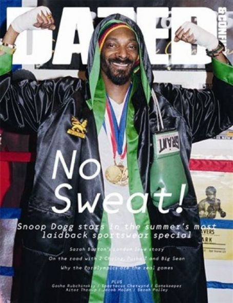 Snoop Dogg - Dazed & Confused Magazine Cover [United States] (1 August 2012)