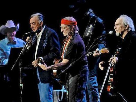 Ray Price , Willie Nelson & Merle Haggard