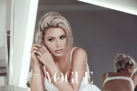 Kim Kardashian – Vogue Taiwan Magazine (February 2018)
