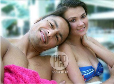Angelica Panganiban and Derek Ramsay
